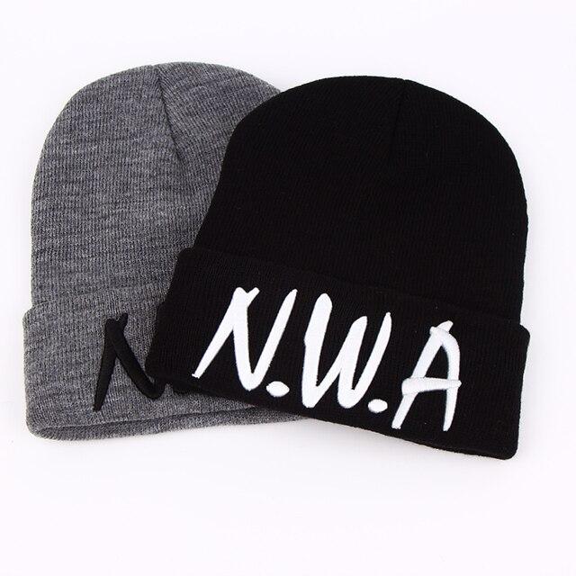 Voron Новый Skullies шапочки гангста NWA вязаные шапки зимние шапка женская шапка Vogue мужские и женские носки в стиле хип-хоп Леди Шерсть помпоном шары капот