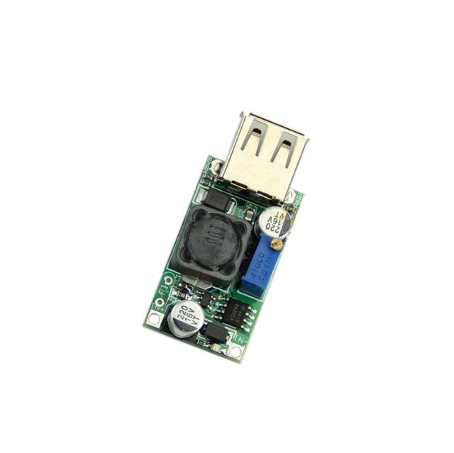 ממיר Boost DC DC 3 V עד 5 V כדי 9 V 2A מודול צעד למעלה מתח יציאת USB