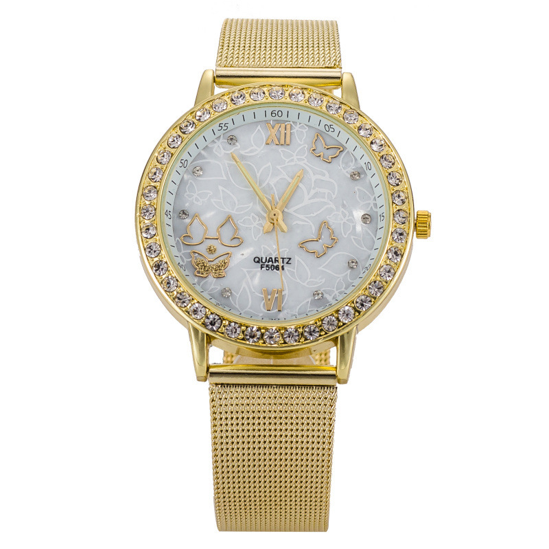 2015 luxury gold stainless steel fashion