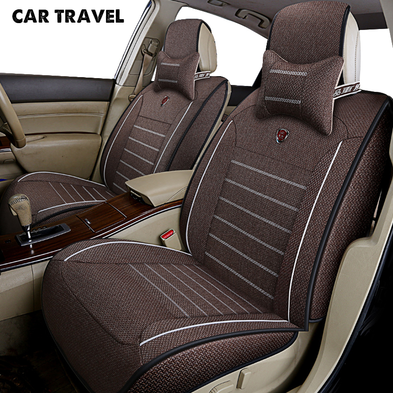 CAR TRAVEL flax car seat cover for suzuki jimny swift sx4 wagon r ignis baleno alto auto accessories car-styling car seat цена 2017