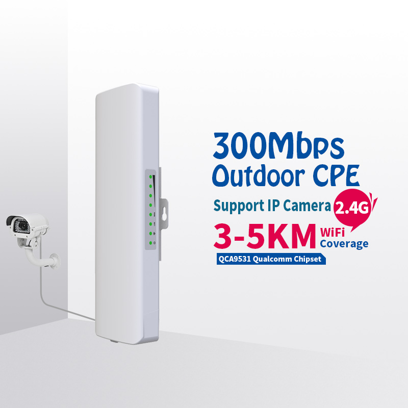 COMFAST 300Mbps Outdoor CPE 2. 4G wi-fi Access Point Wireless Bridge 1-3KM Range Extender CPE Router For IP Camera CF-E314N comfast 300mbps outdoor cpe 2 4g wi fi ethernet access point cf e314n wifi bridge 1 3km extender cpe router with poe wifi router