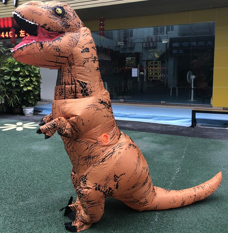 Halloween Costumes for Women Adult T-Rex Dinosaur Cosplay Halloween Inflatable costume mascot Party Dress Birthday Gift