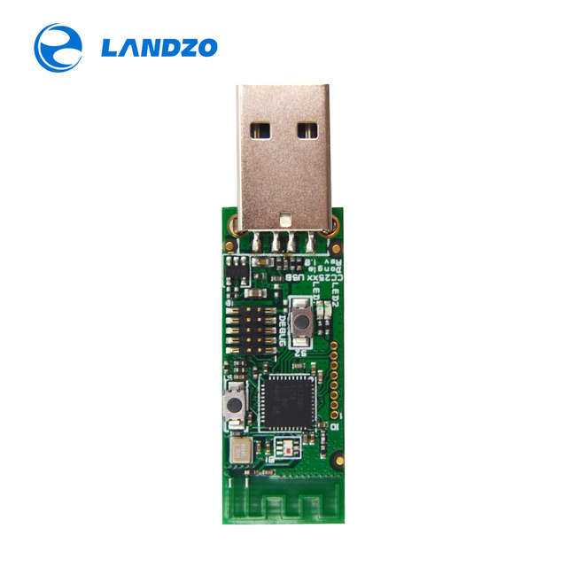 Wireless Zigbee CC2531 Sniffer Bare Board Packet Protocol Analyzer Module USB Interface Dongle Capture Packet Zigbee Module