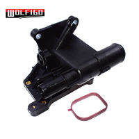 WOLFIGO New Engine Coolant Water Outlet For Ford Fusion Escape Transit Connect 2007 2017 6S4Z8K556A, 85928,6S4Z 8K556 A