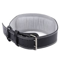 Weightlifting Belt GYM Fitness Crossifit Weight Lifting Back Support PU Fabric Power Training Blet Equipment High