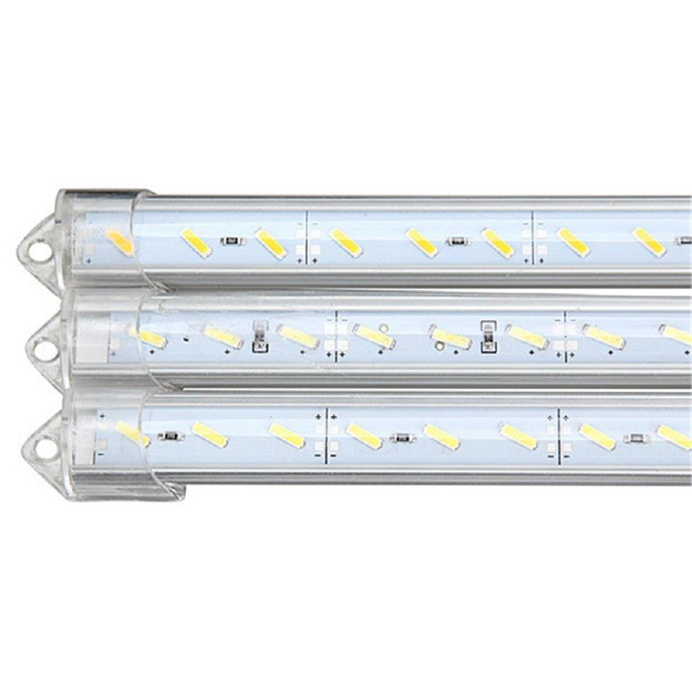 AKDSteel 36LED Vehicle Night Lamp SMD7020 DC12V 50CM Hard Light Bar for Jewelry Show Counter Vehicle Night Lamp Decoration