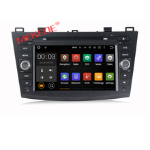 8″ low price Android 7.1 Car dvd player multimedia radio For MAZDA 3 2010 2011 2012 with Car GPS navigation 4G wifi BT MAZDA 3