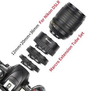 Image 3 - Shoot anel de extensão macro de foco automático, anel para nikon d5600 d5500 d5300 d7200 d7100 d3400 d3300 d610 d90 acessórios