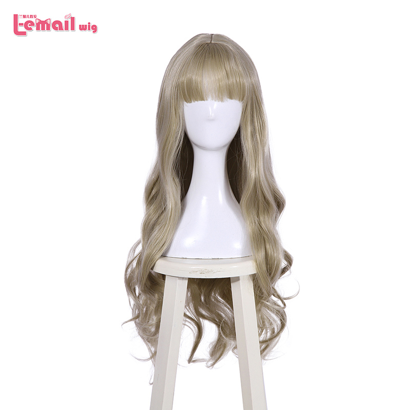 L-email wig New Arrival DARLING in the FRANXX 556 Cosplay Wigs Kokoro Wigs 80cm Long Wavy Synthetic Hair Perucas Cosplay Wig