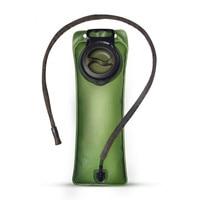 2.5L Green TPU Bicycle Mouth Foldable Water Bag Bottle Water Bladder Drinking Bag Free shipping