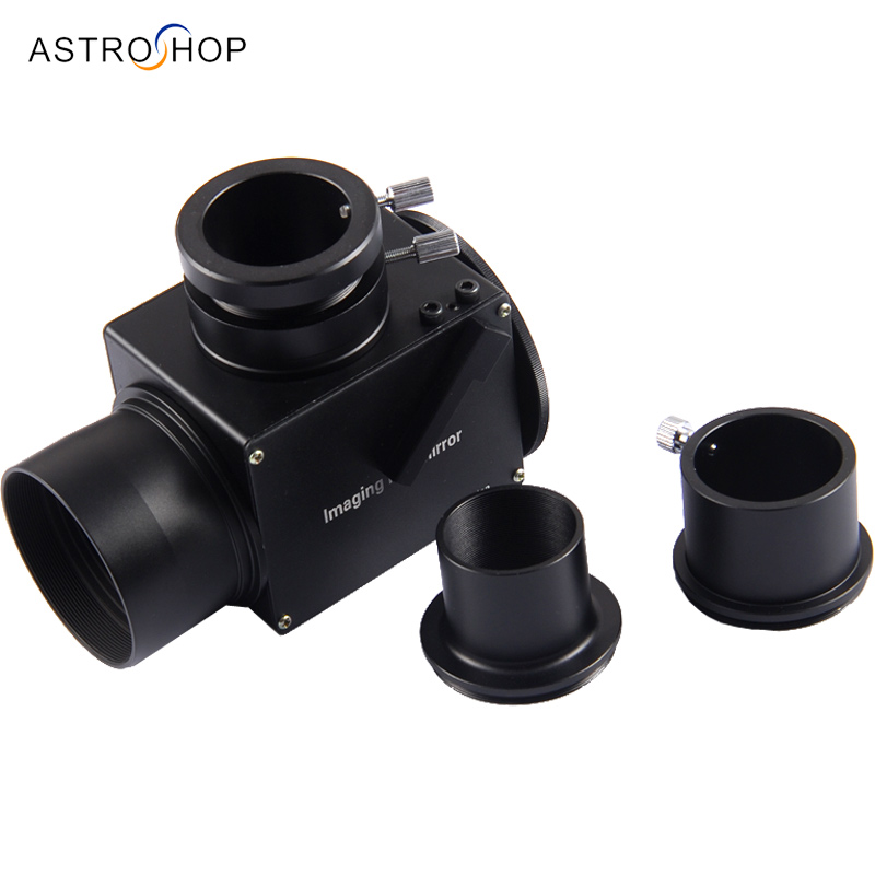 Imaging Flip mirror for telescope with 1.25