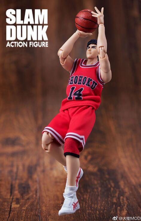 GREAT TOYS Dasin Mitsui Hisashi pvc action figure SLAM DUNK GT model toy brinquedos NO 14