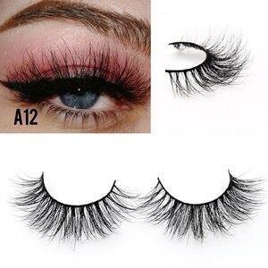 Image 4 - Visofree 25 pairs/lot Mink Eyelashes Full Volume Stunning 3D Mink Lashes Handmade Full Strip Lashes maquillage makeup Eye lashes