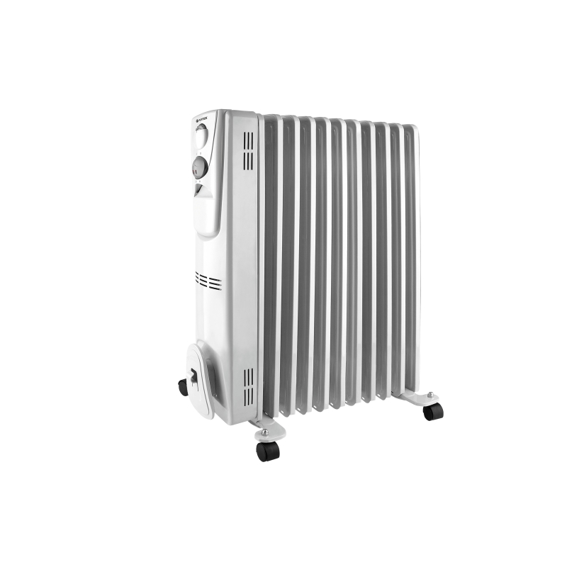 Oil Heater Vitek VT-2128 (W) (Power 2300 W, 11 sections, heating area up to 18 sq. M, overheating protection) heater oil resanta омпт 7н power 1500 w 7 sections adjustment heating
