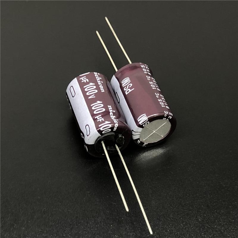 200pcs 100uF 4V Nichicon WX  4V100UF SMD Chip type Capacitor 5x5.4mm