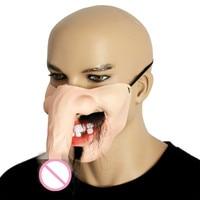 2017 neue Maske Personalisierte Yin und Yang Latex Masken Halloween erwachsene Dance Horror Kopf Set Party Dekoration Lustige Half Face maske