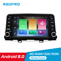 8 Core 4G RAM Android 8.0 Car DVD Multimedia Radio Player For KIA PICANTO MORNING 2017 2018 Stereo GPS Navigation FM Video Audio