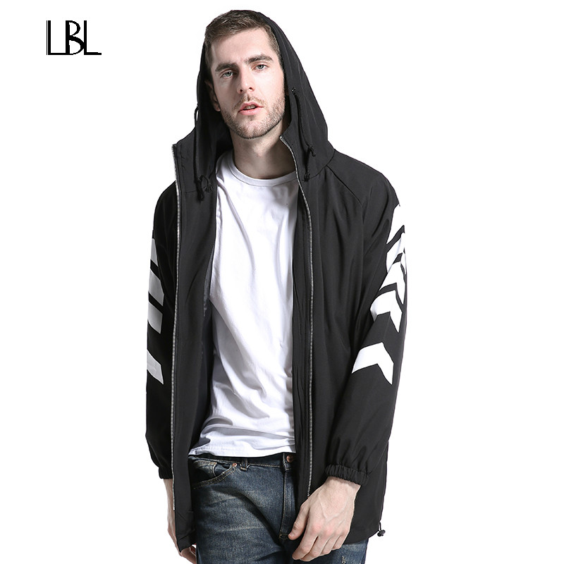Men Hooded Jacket Black Streetwear Winter Hip Hop Fashion Mantle Hoodie Sweatshirts long Cloak Coats Outwear Man Fashion Bomber