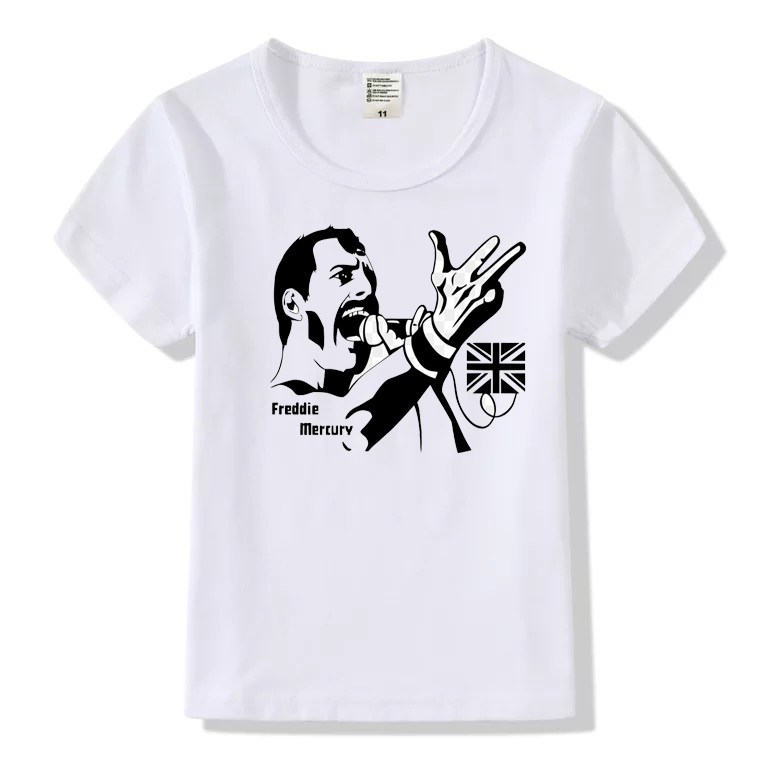 Imparziale Retro Roccia King Freddie Mercury Queen Band Classic T-shirt Di Estate Hip-hop Uomini E Donne Di Stile T-shirt Di Moda Casual Top Hhy498a Qualità Eccellente