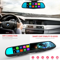 New 7 Inch Bluetooth WIFI FM Map Free Update ROM 16GB Special Android 4 4 CarDVR