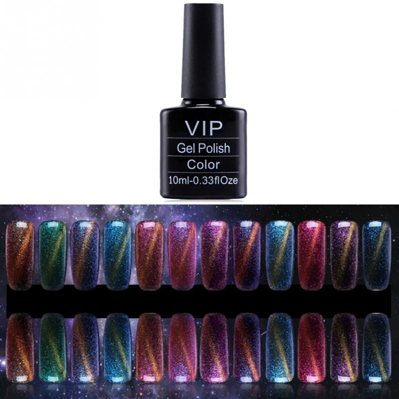 12 Colors Star Cat Eyes Magnetic Magic Nail Art Uv Gel Polish 10ml Cats Eye In From Beauty Health On Aliexpress Alibaba Group
