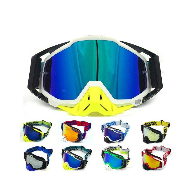 Original Ski Goggles Off-road Motorrad Brille Atv Mountainbike Dh Ski Brille Glas Sonnenschirm Spiegel Hochwertige Materialien