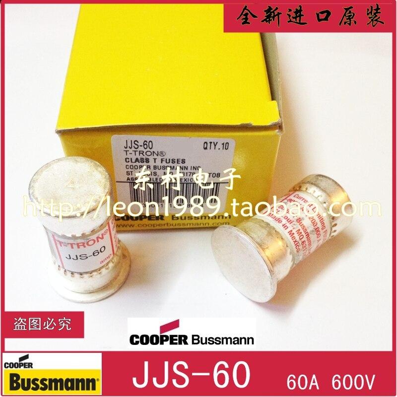 Cooper Bussmann 1PCS JJS-60 60A TRON Class T Fast Acting Fuse 600Vac