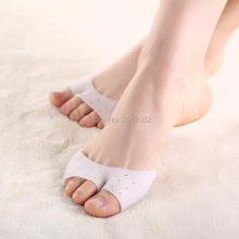 Ultra-soft Silicone Toe Protective Cover Foot Protection Sleeve Toe Pads Gel for Ballet Shoe High Heels Foot Care Tool F2017738
