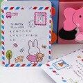 Hot Bonito dos desenhos animados padrão de Banco Titular do Cartão de Crédito do negócio a capa do passaporte Caso Carteira Para As Mulheres Menina PT0230