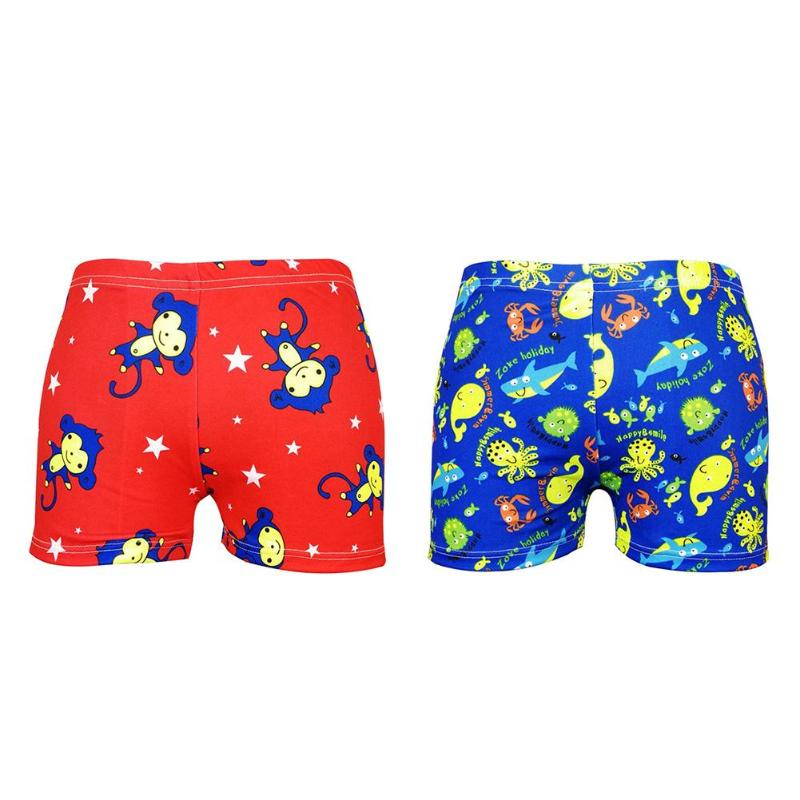 Summer New Baby Boys Swimming Trunks 7-9Y Cartoon Floral Bathing Suit Children Swim Shorts Kids Toddler Beach Pants Swimwear ...
