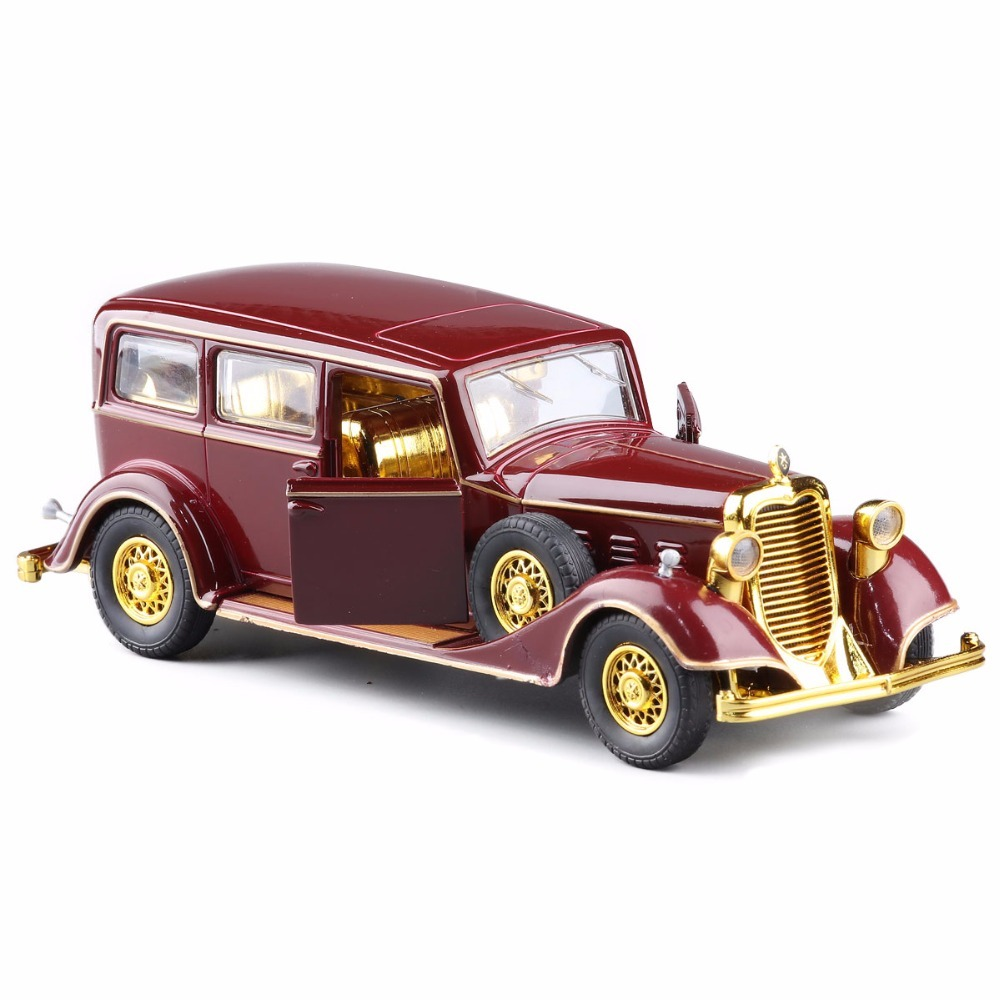 NEW DIECAST 1:32 ALLOY MODEL TOYS SOUND LIGHT PULL BACK VINTAGE CLASSIC ROLLS ROYCE FOR KIDS GIFTS TOYS