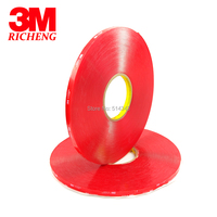 1MM Thickness VHB Silicone Tape Clear Acrylic Double Side Rubber Tape 3M 4910 10MM*33M 5ROLL/Lot