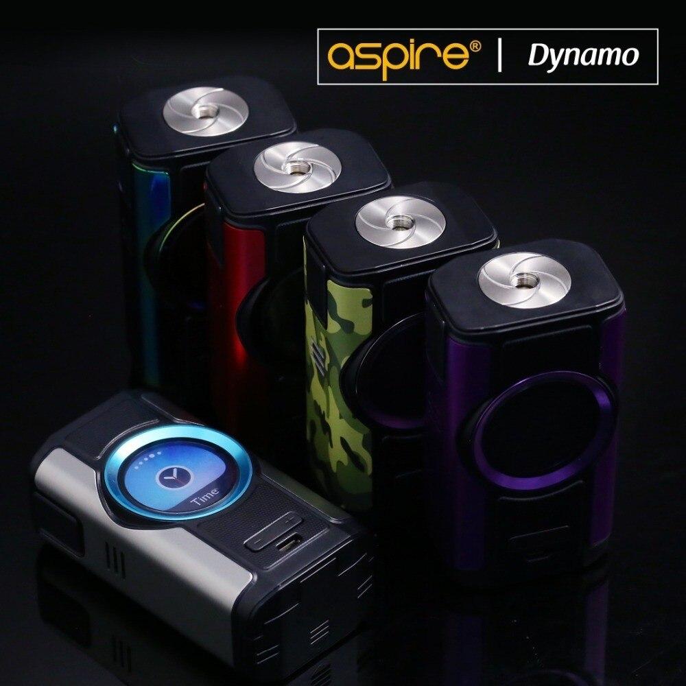 Cigarrillo electrónico Mod aspirar Dynamo 220W 510 hilo Vape soporte VW VV Bypass CPS TC TCR modos con pantalla TFT de 2 pulgadas - 5