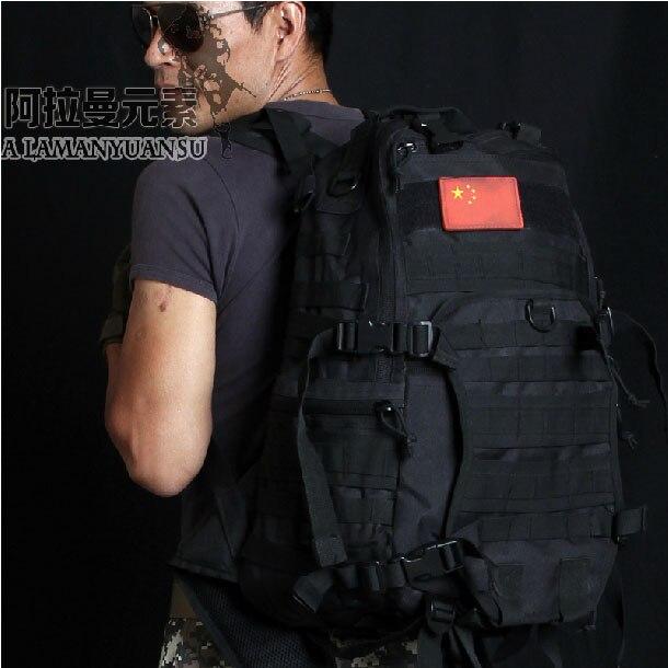 Livraison gratuite tactique militaire sac à dos Molle Camouflage sac à bandoulière en plein air sport sac Camping randonnée - 3