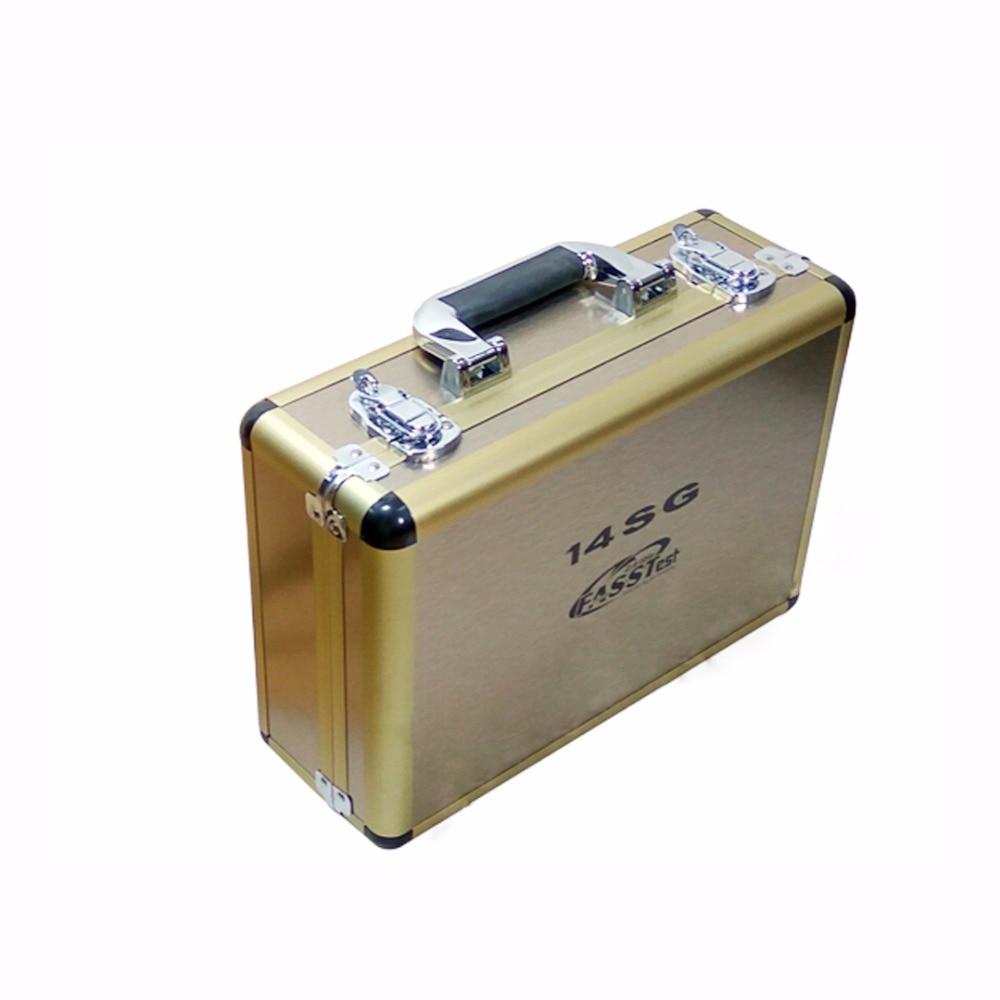 1 Piece RC Drone Radio Remote Controller Aluminum Case For futaba 14SG 10C 8FG 10J 8J T6K futaba 14sg jr xg6 remote controller signal booster module diy module in built non destructive installation rc drone accessories