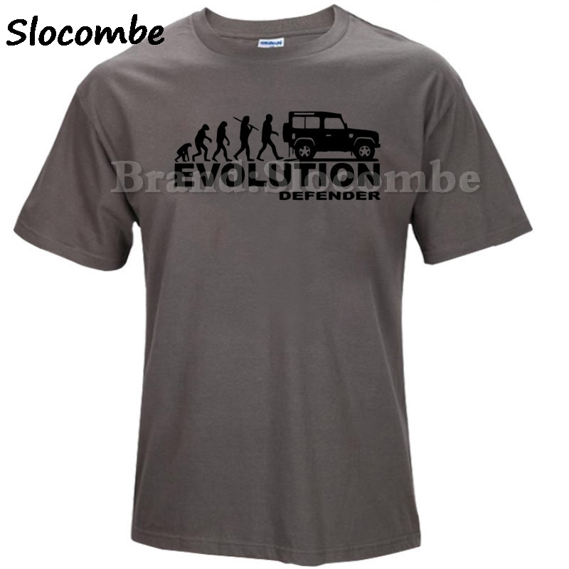 Top Sale Defender Evolution Men T shirt Land Rover Series 1 Off Road customized printed T-Shirt Men Classic Evo Evolution
