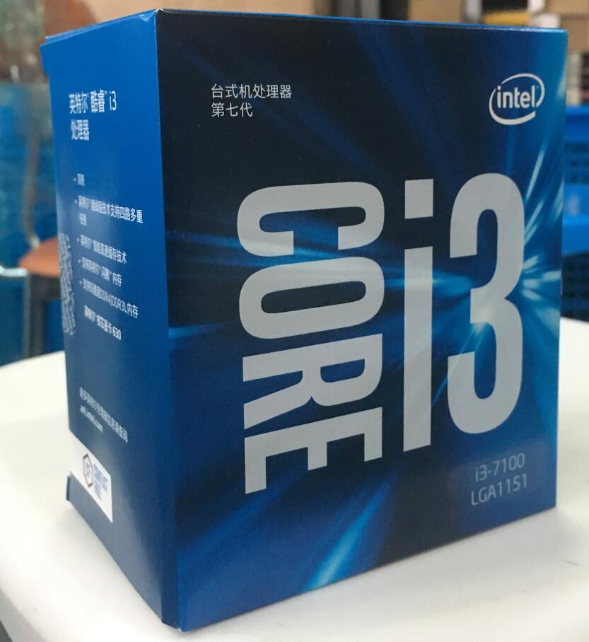 Intel Core i3 7 series Processor I3 7100 I3-7100 Boxed processor CPU LGA 1151-land FC-LGA 14 nanometers Dual-Core intel core i3 2120 sandy bridge 3 3ghz lga 1155 65w dual core desktop processor intel hd graphics 20