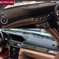 Für Mercedes-Benz E-Klasse W212 S212 W213 E200 E300 E320 Leder Dashmat Dashboard Abdeckung Pad Dash Matte sonnenschirm teppich 2009-2019