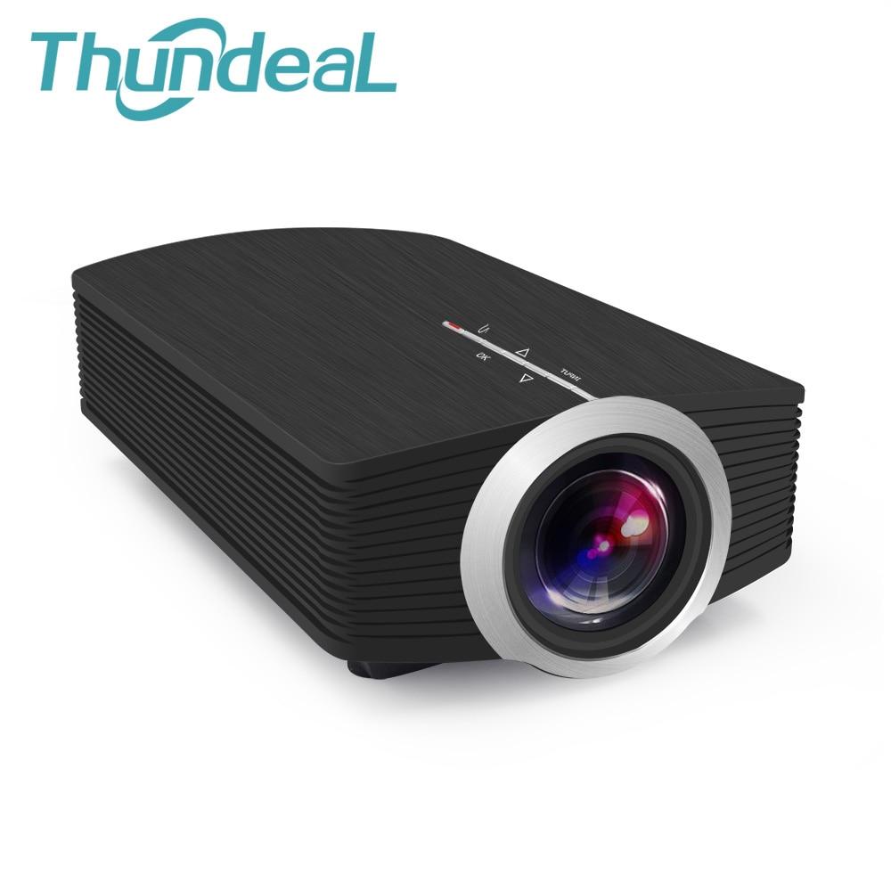 Thundeal Newest YG500 YG500A Mini Projector 1080P 1800 Lumens Portable LCD Projector For Home Cinema USB HDMI VGA 3D LED Beamer