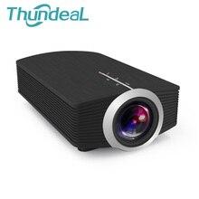 Thundeal Reciente YG500/YG500A mini Proyector 1080 P 1500 Lúmenes Proyector LCD Portátil Para Home Cinema Cable Libre de HDMI Gafas 3D