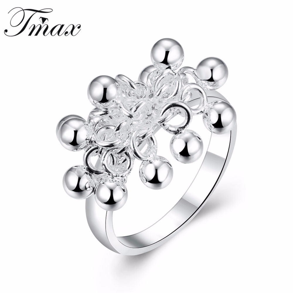 grape rings silver plated trendy style simple fashion jewelry Grape VATS Fibergalss grape rings silver plated trendy style simple fashion jewelry simulated food design engagement wedding ring for women hfne0859 in rings from jewelry