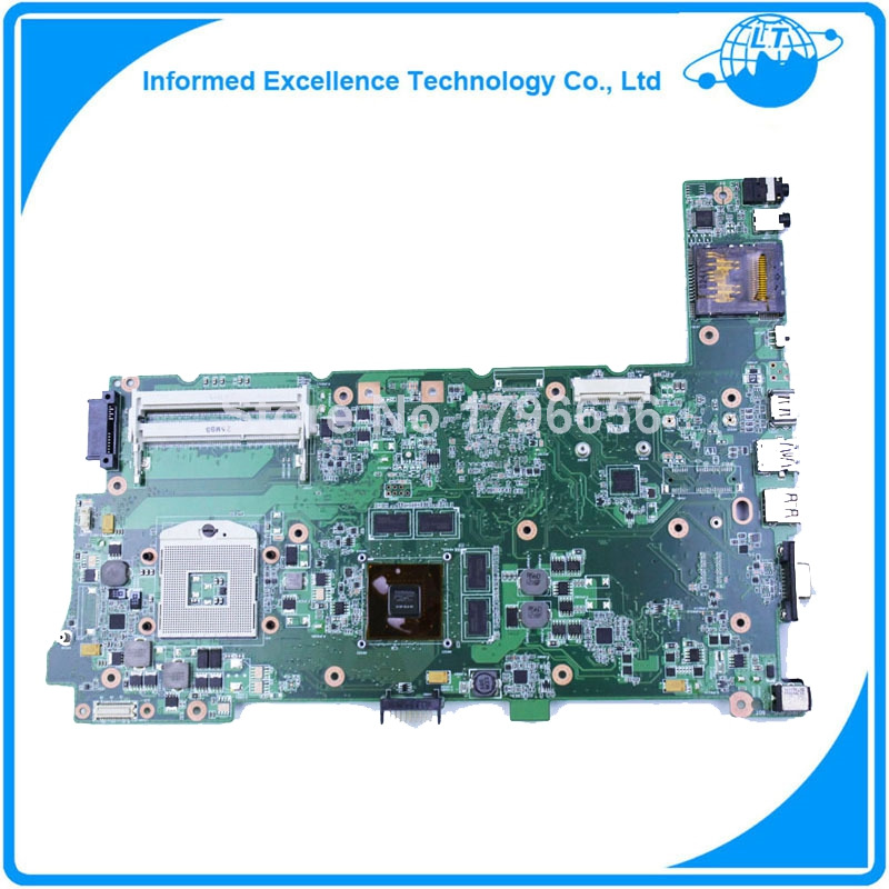 For ASUS N73SV N73SM Laptop Mainboard N12P-GS-A1 2 ram slot gt540m DDR3 free shipping