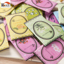 10Pcs /Pack Aromatherapy Natural Smell Incense Wardrobe Sachet Air Fresh Refreshing Scent Bag  Vanilla Lavender Rose Lily