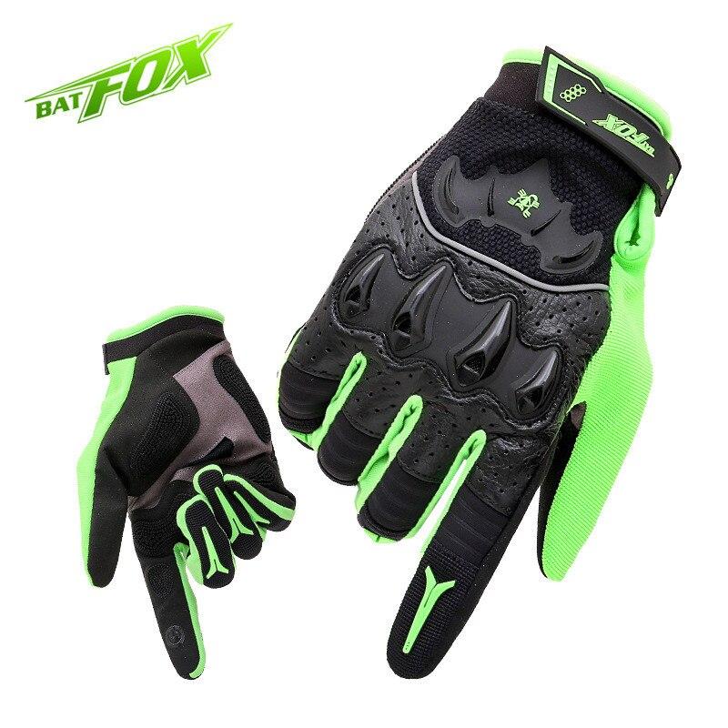 BATFOX 2017 chaud vtt hommes cyclisme complet doigt Lycra cuir Anti-usure vélo gant Sports de plein air tactique gants livraison gratuite