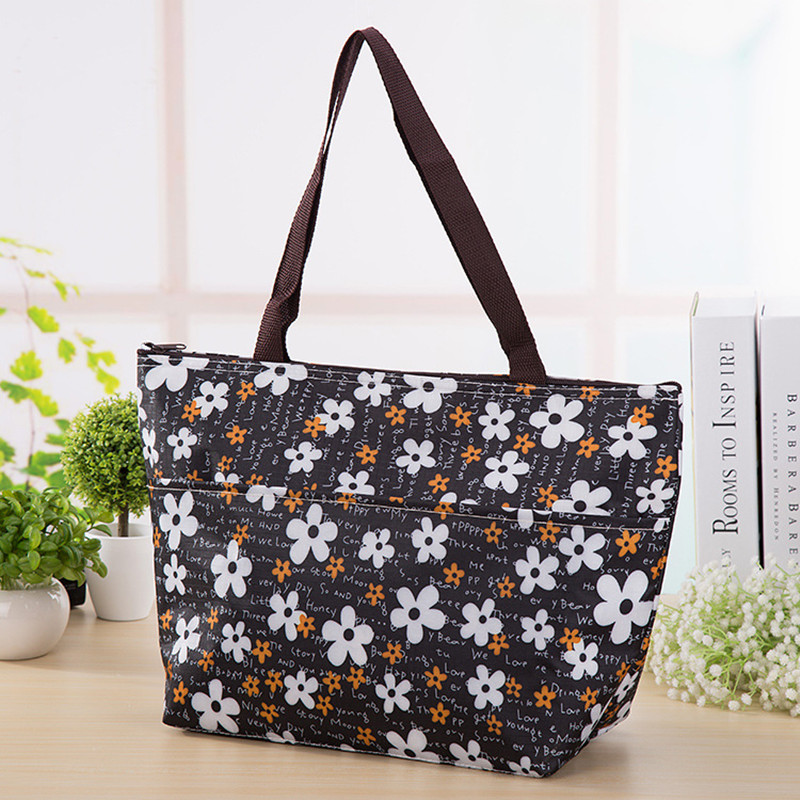 New portable carry thicker insulated thermal ice pack cooler bag men women kids baby pinic tote lunch box large breast milk