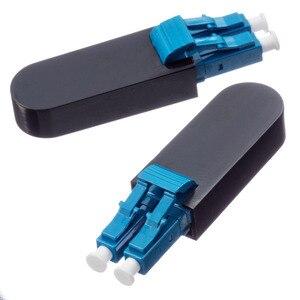 Image 1 - LC UPC Connector Duplex SM(9/125) OM1 Multimode(62.5/125) Fiber Loopback Module Tester LC adapter