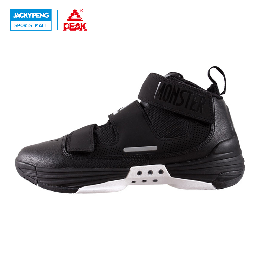 PEAK SPORT Monster III Men Basketball Shoes Breathable Athletic Sneakers FOOTHOLD Tech Wear-resistant Non-Slip Ankle Boots peak sport speed eagle v men basketball shoes cushion 3 revolve tech sneakers breathable damping wear athletic boots eur 40 50