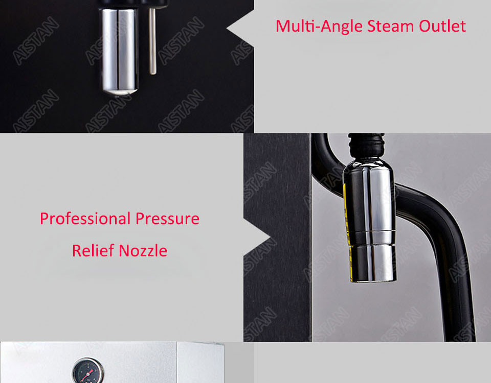 RC800 Commercial stainless steel Water Boiling Machine electric multifunctional steam water boiler for bar 220V 22