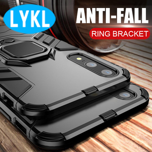 Роскошный бронированный чехол LYKL с подставкой для телефона Huawei P20 Lite P20, противоударный чехол с кольцом-держателем для Huawei P20 Pro, чехол, футляр