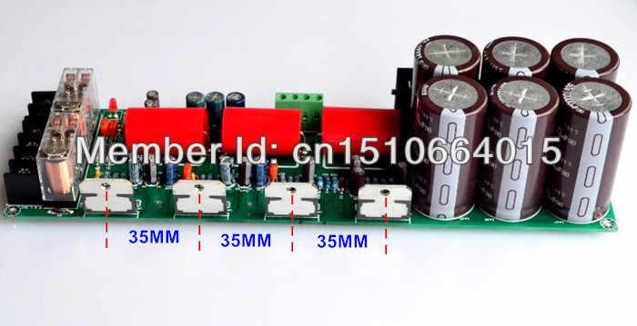 Отделка большой ватт 2,1 усилитель доска tda7294 tda7293 усилитель с защитой 2,1 сабвуфер предусилитель задний отдельный
